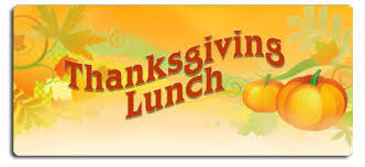 Thanksgiving Lunch Schedule